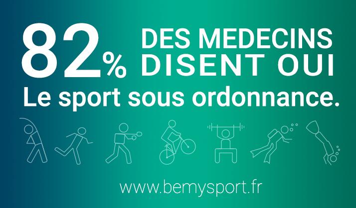 Le sport sous ordonnance : 82 % des médecins disent oui