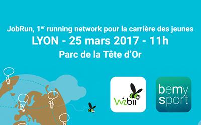 WizBii & BeMySport pour un JobRun à Lyon