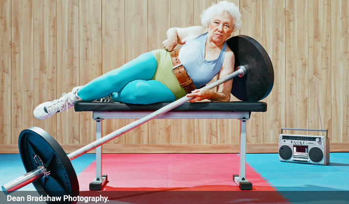 Les personnes âgées au sport, par Dean !