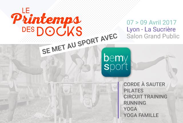 Le Printemps des Docks se met au sport avec BeMySport