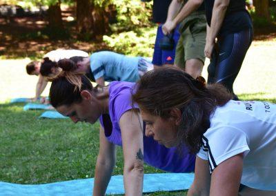 Séance Pilates en entreprise