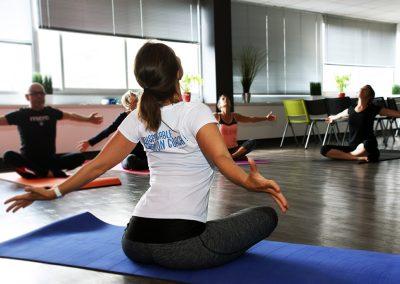 Séance yoga en entreprise